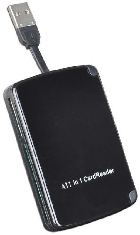 Reo 10 in 1 Portable Card Reader(Black)