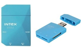 Intex All in One (Pack of Two) Card Reader(Blue)