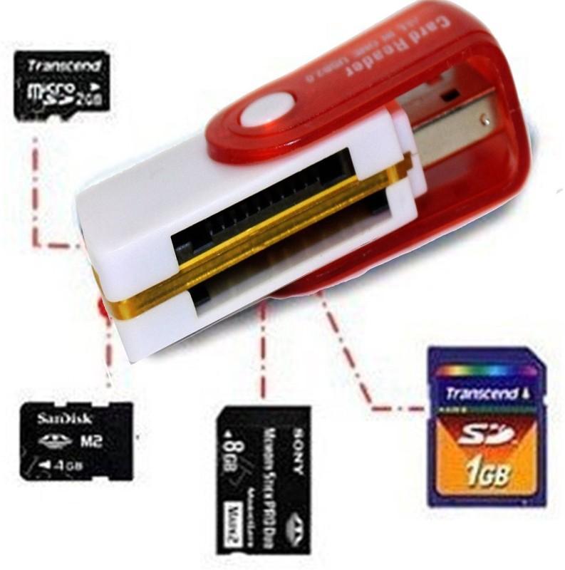 Kemket kemket Card Reader(Red)