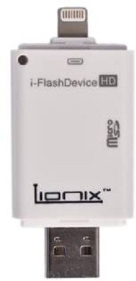 Lionix IFlash Drive Card Reader(White)