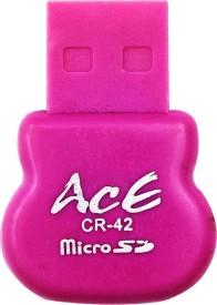 Ace singleslotcardreader42 Card Reader(Multicolor)