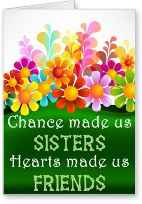 Lolprint Sisters Friends Rakhi Greeting Card