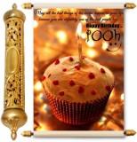 Lolprint Happy Birthday Pooh Gold Scroll...