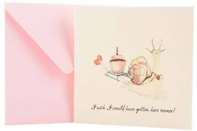 The Papier Project At Snail,S Pace Greeting Card