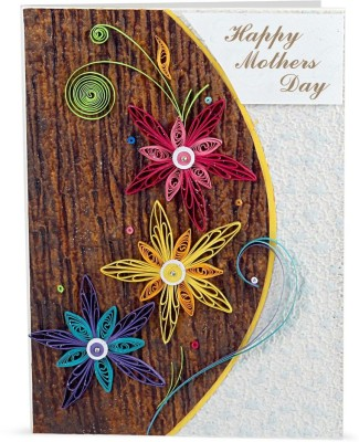 Handcrafted Emotions Mothers Day Greeting Card