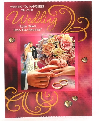 Reliable Beautiful Marriage Greeting Card