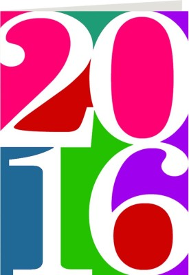 Giftsbymeeta Happy 2016 Greeting Card