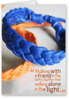 Lolprint Wristbands Friendship Day Greeting Card
