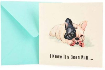 The Papier Project Woof The Ruff Away Greeting Card
