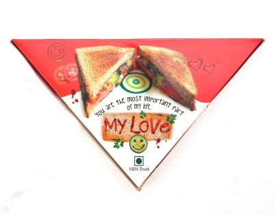 Reliable My Love Sandwich Greeting Card