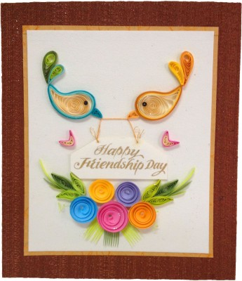 Handcrafted Emotions Friendship Day Greeting Card