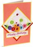 Handcrafted Emotions Birthday Greeting C...