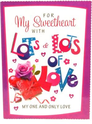 Fashion Envoy Colorful Valentine Greeting Card
