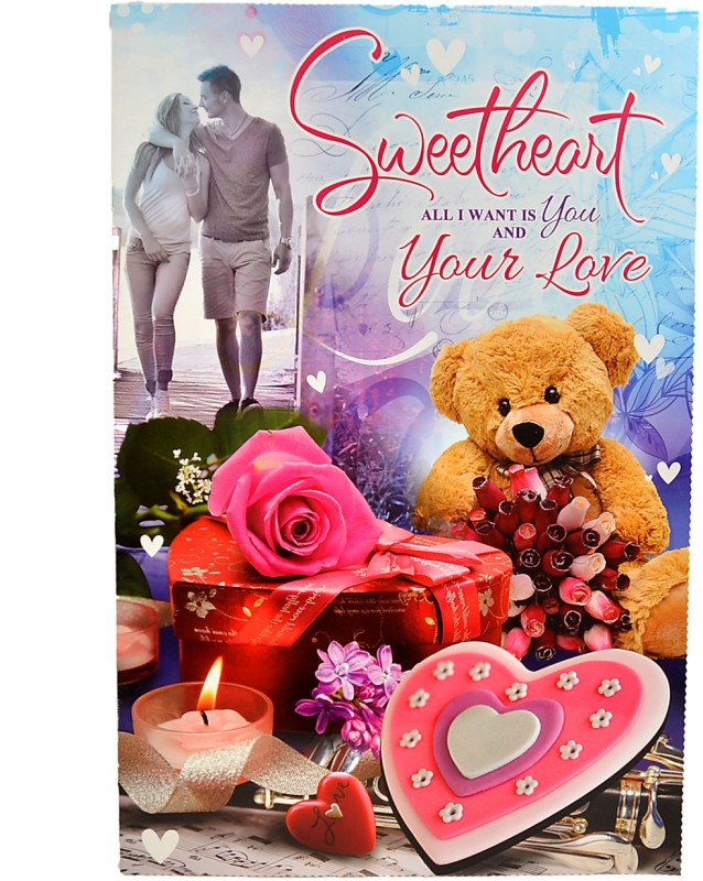 Reliable Charming Sweetheart Greeting Card(Multicolor, Pack of 1)