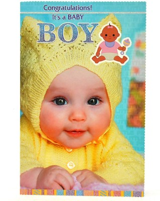 Reliable Sweet Little Baby Boy Greeting Card