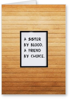 Lolprint Sister Friend Rakhi Greeting Card