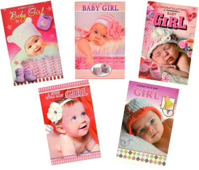 Fashion Envoy Baby Girl Greeting Card