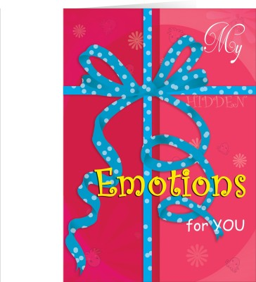 Future Times My Hidden Feelings and emotions for you Greeting Card