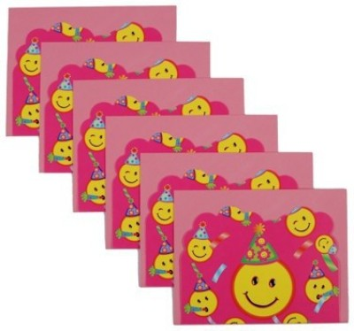 Funcart Smiley Theme Party Invitation Card