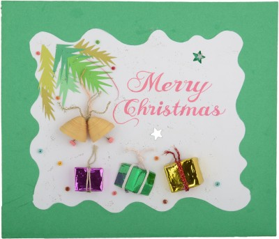Handcrafted Emotions Christmas Greeting Card