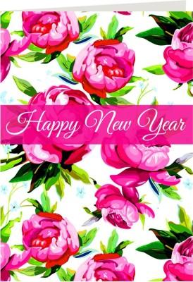 Giftsbymeeta Happy New Year Greeting Card