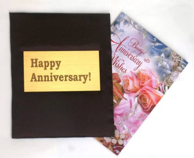Letz Dezine Happy Anniversary Greeting Card