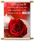 Lolprint I Love You Mukesh Scroll Greeti...