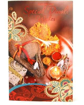 Reliable Bright Diwali Greeting Card