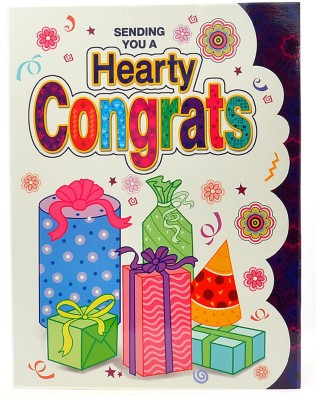 Reliable Congrates Greeting Card