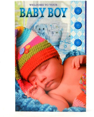 Reliable Baby Boy Arrival Greeting Card