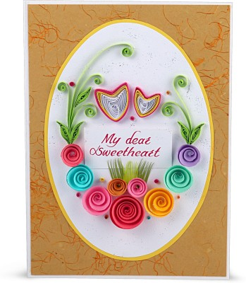 Handcrafted Emotions My Dear Sweetheart Greeting Card