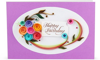 Handcrafted Emotions birthday Greeting Card