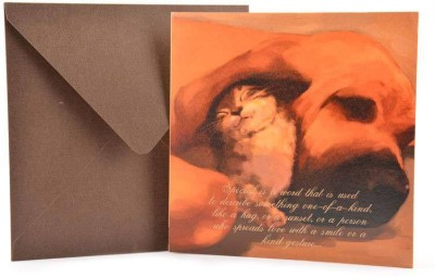 The Papier Project Snuggles And Nuzzles Greeting Card