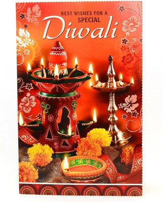 Reliable Trasitional Diwali Greeting Card