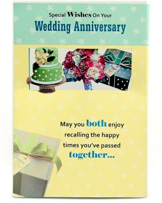 Reliable Classy Anniversary Greeting Card