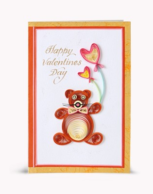 Handcrafted Emotions Valentines Day Greeting Card