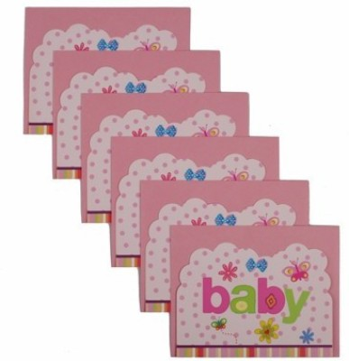 Funcart Butterfly Baby Invitation Card