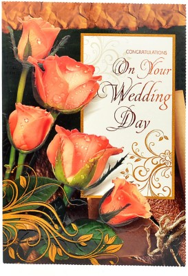 Reliable Wedding Greeting Card