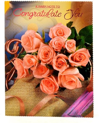 Reliable A Warm Congratulation Greeting Card