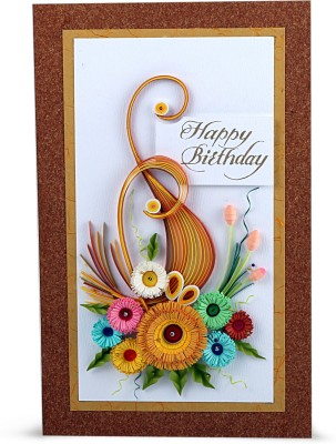 Handcrafted Emotions Greeting Card