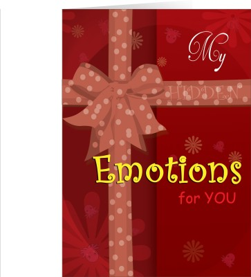 Future Times MY Emotions For You Greeting Card