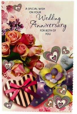 Reliable Exquisite Annivesary Greeting Card
