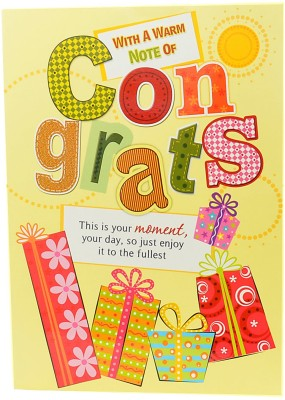 Reliable Congratulations Greeting Card