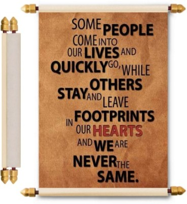 Lolprint Friendship Gifts Scroll Greeting Card(Multicolor, Pack of 1)