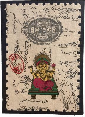 Rstore Handmade Ganesh Print Greeting Card