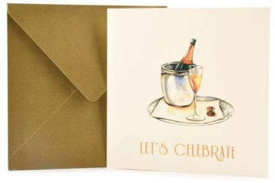 The Papier Project Celebratory Cheer Greeting Card