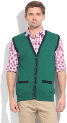 United Colors of Benetton Men's Button Solid Cardigan