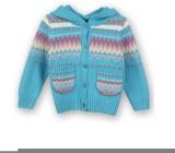 Lilliput Baby Girls Button Self Design C...