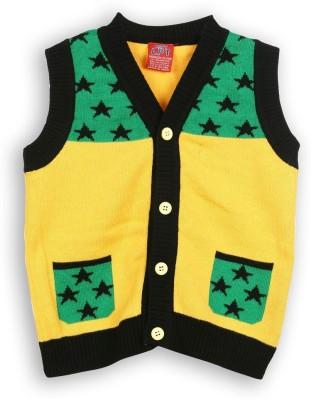 Lilliput Baby Boy's Button Self Design Cardigan