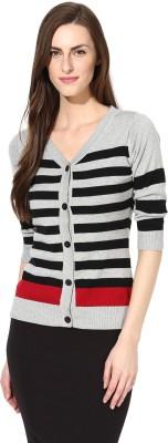 Manola Women's Button Striped Cardigan